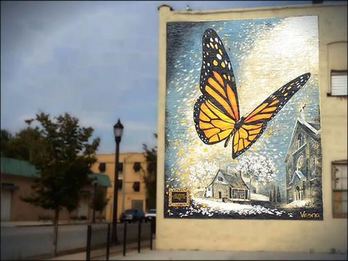 Butterfly - Monarch - Vesna