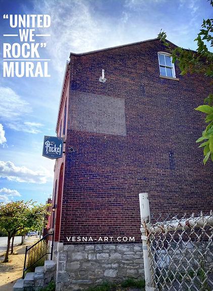 United We Rock Mural by Vesna Delevska