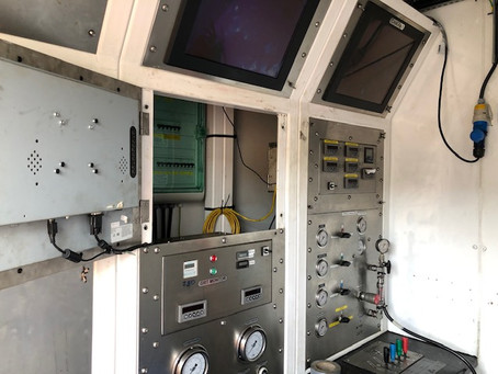 COMPEX electrical Installation completed by AM Campbell (UK) Ltd to offshore tooling workshop.