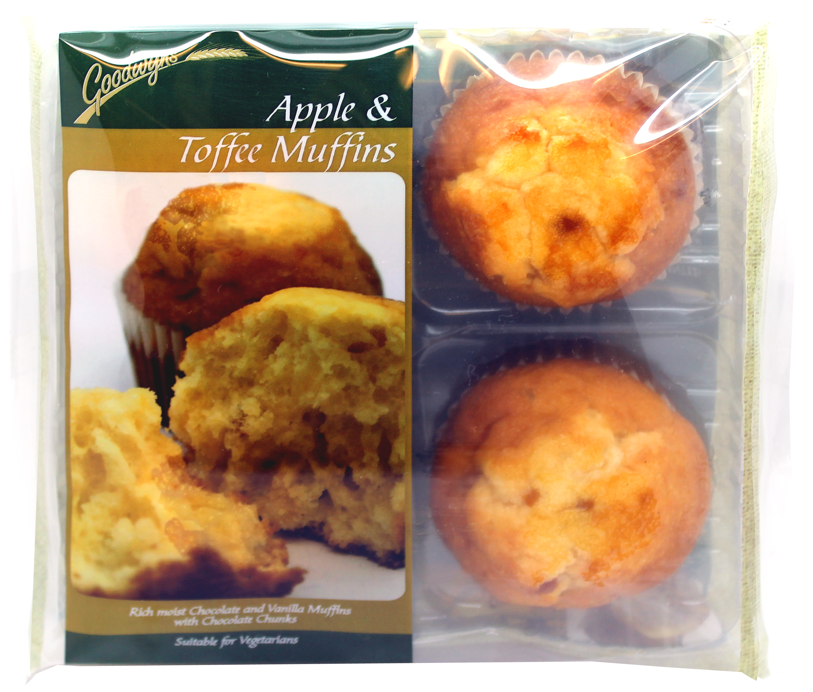 CK 279 Apple & Toffee Muffins 4pk