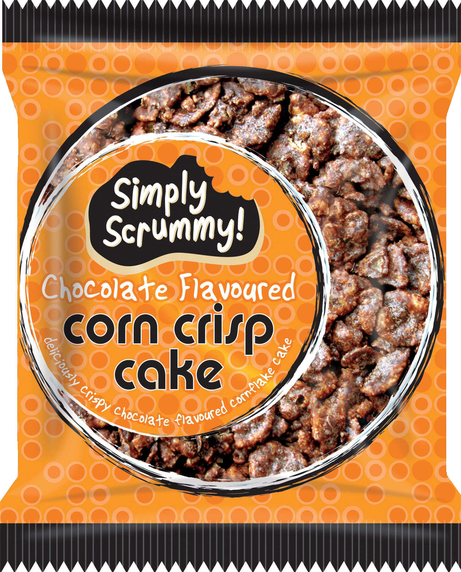 SS 069 Choc Corn Crisp Cake