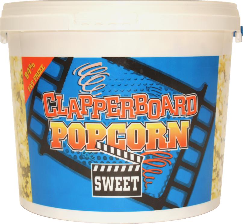 CON 123 Clapperboard Popcorn 300g
