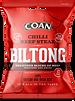 SNK/114Coan Chilli Beef Steak Biltong 30g