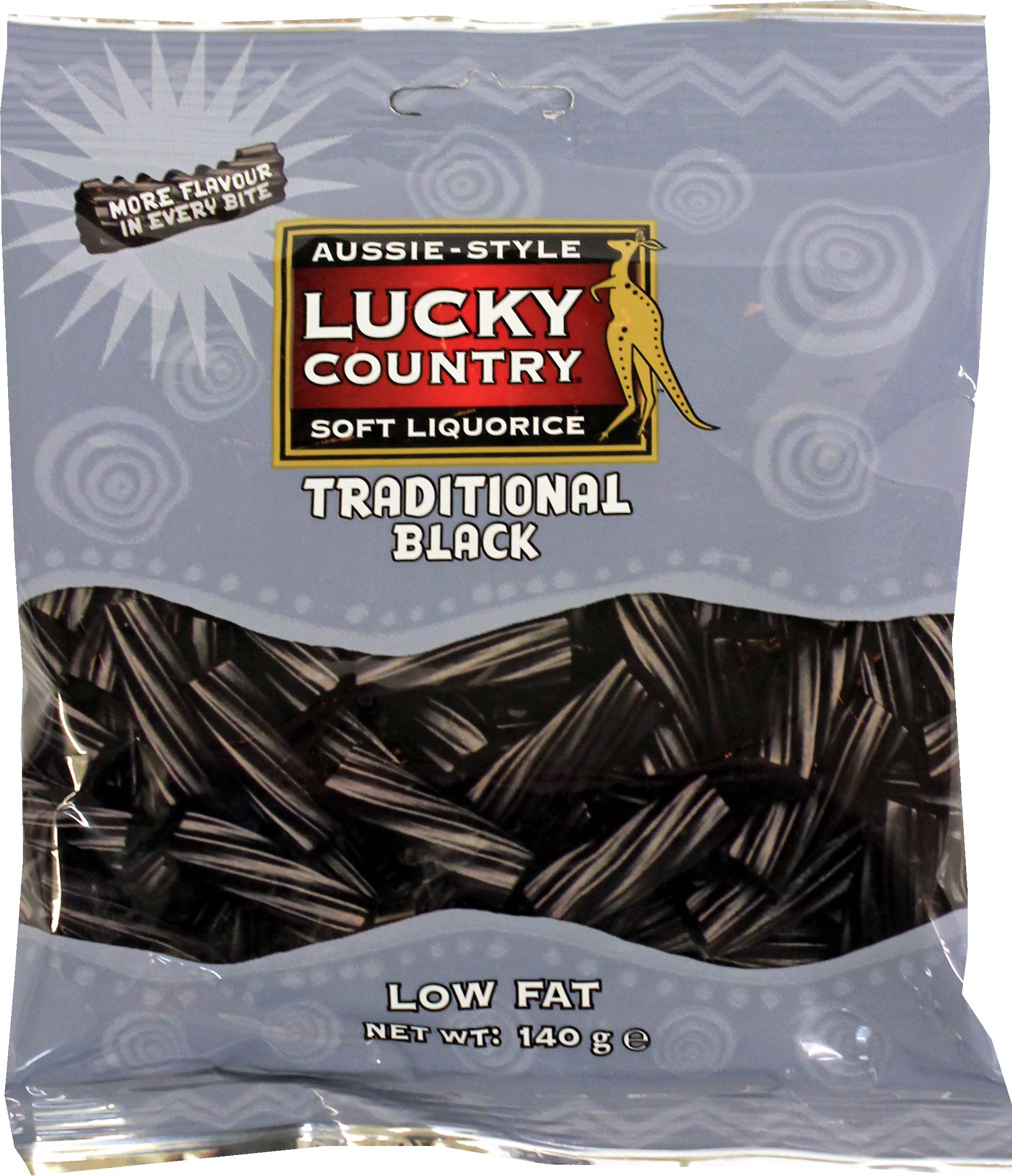 CON 140 Lucky Country Black Liquorice