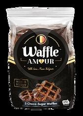 CK/001 Waffle Amour 5 Choco Sugar Waffles x 12