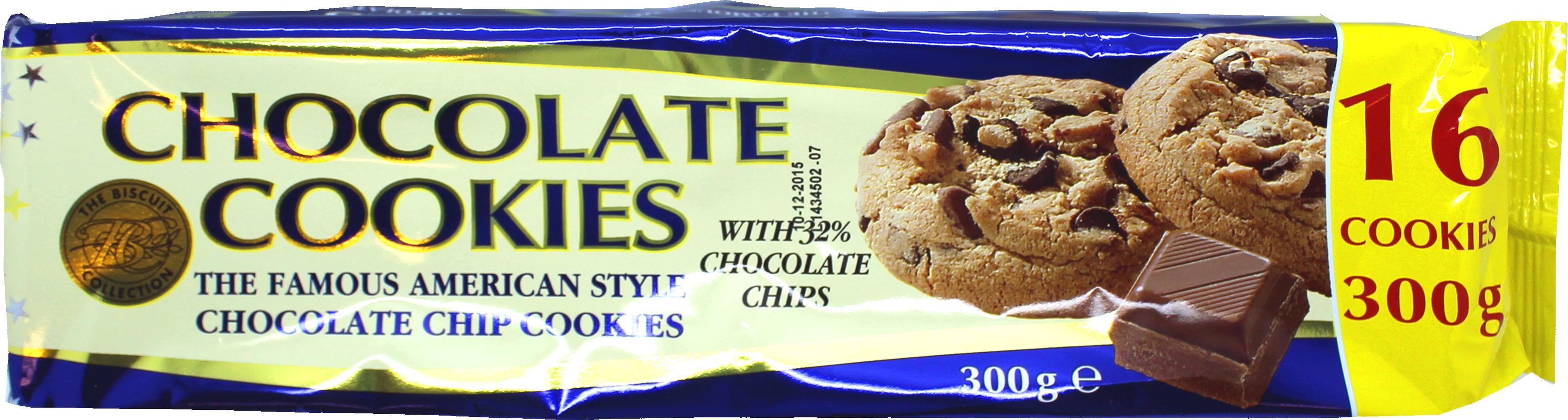 MIS 035 Merba Choc Cookie 300g