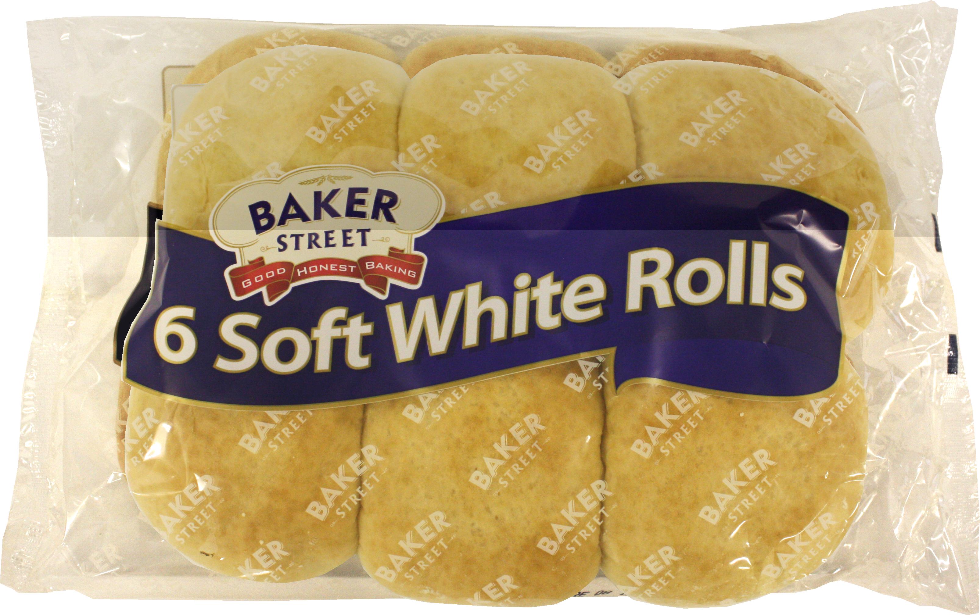 BP 148 Baker Street 6 Soft White Rolls