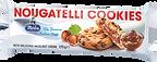 BIS/130 Nougatelli Cookies 175g
