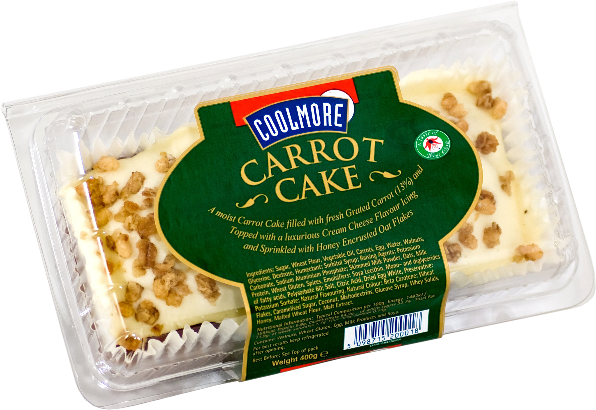 CK 121 Coolmore Iced Carrot Cake