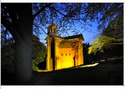 Watts Chapel at Night