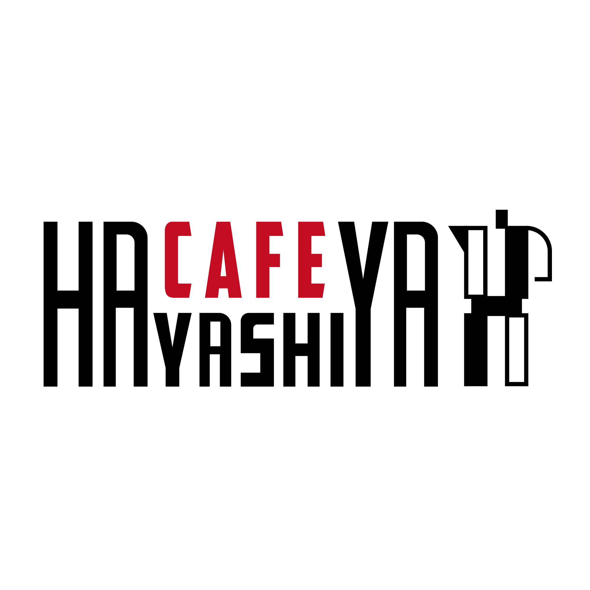 cafe hayashiyaロゴ