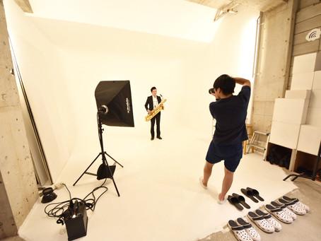 スタジオで宣材写真、撮りません?