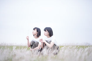 双子の宣材写真