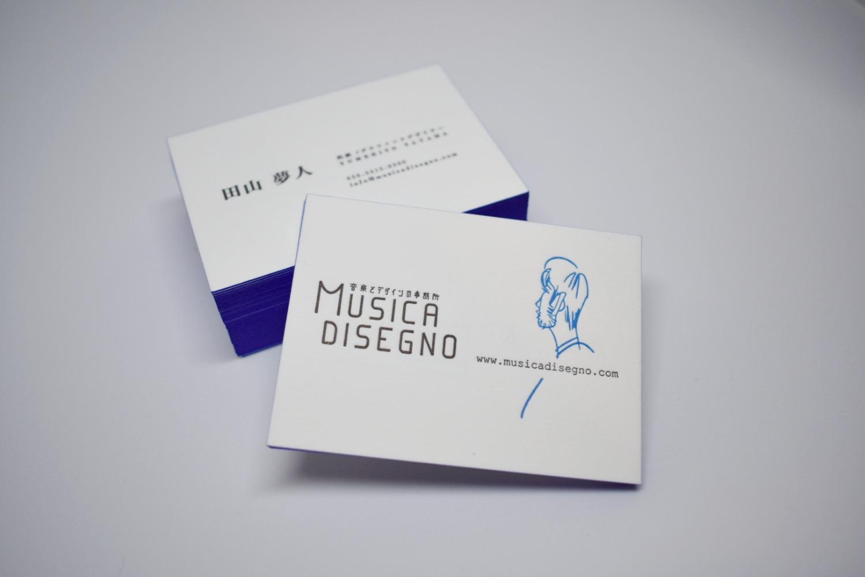 MUSICA DISEGNO名刺デザイン