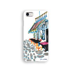 iPhoneケース『夢のカフェ』