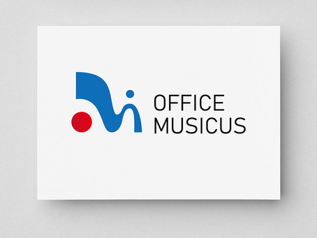 『一般社団法人OFFICE MUSICUS』ロゴデザイン。