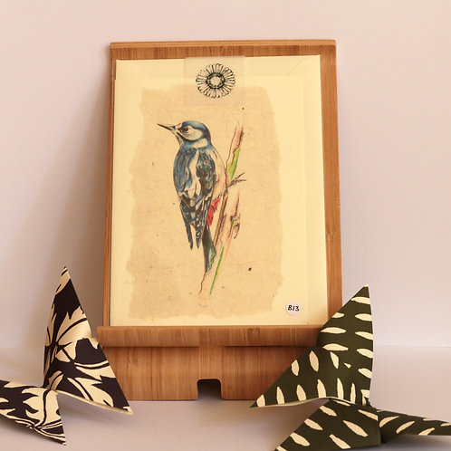 Woodpecker Greetings Card
