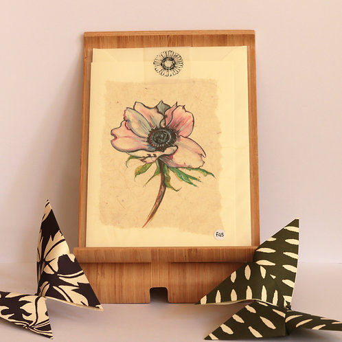 Anemone Greetings Card