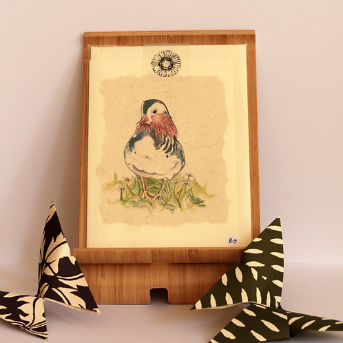 Mandarin Duck Greetings Card