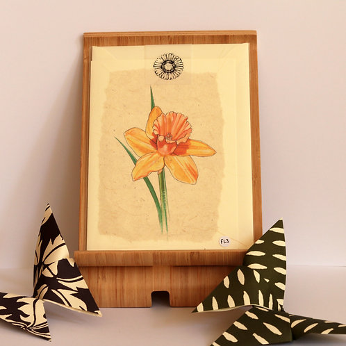 Daffodil Greetings Card