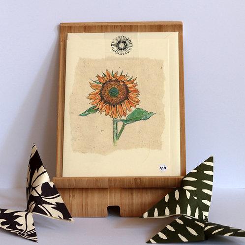 SunflowerGreetings Card