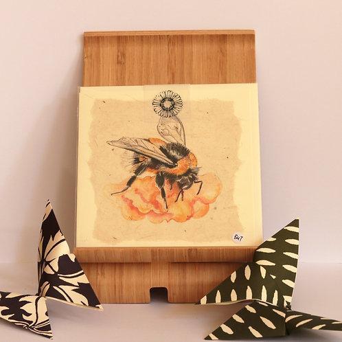 Bumblebee Greetings Card