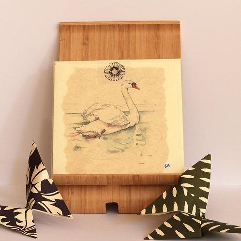 Swan Greetings Card