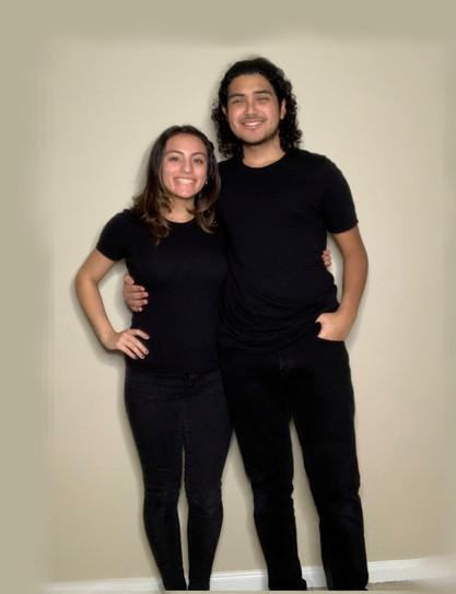 Skyla Lopez and Nicollo Gracia