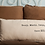 Thumbnail: Truly, Madly, Deeply Custom Embroidered 14 x 28 Linen/Burlap Pillow