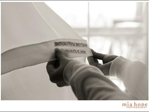Keepsake Wedding Date Label