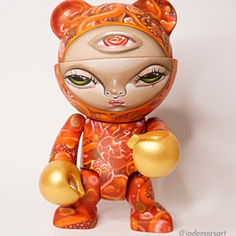 """'Beeze - Bub' 10"""" Hand painted Trexi Figure"""