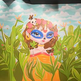 La Adelita Mexican Cantina Mural