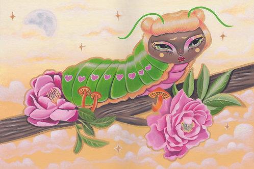 'Caterpillar' Art Print