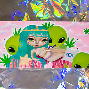 Alien Lover Skateboard