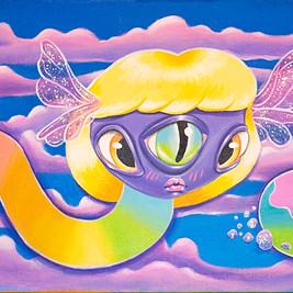 'Rainbow Vision' Painting