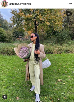 Amaka's style ranges anywhere from streetwear to fabulous, and we are here for it.