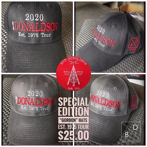 """""""Gordon"""" Tour 2020 Hats"""