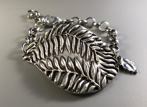 Ferns in Fine Silver