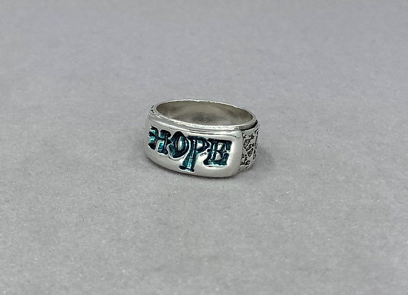 Hope Fine Silver Ring