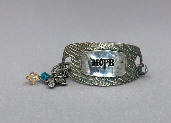 Hope Fine Silver Bracelet