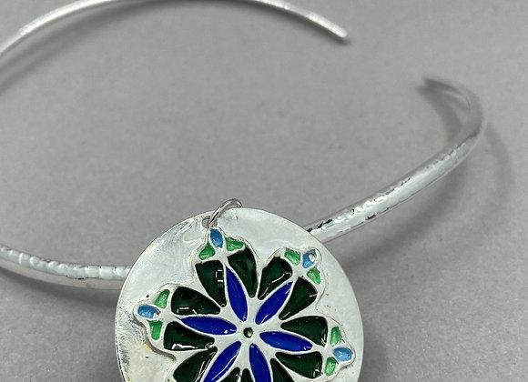 Glass and Silver Mandala