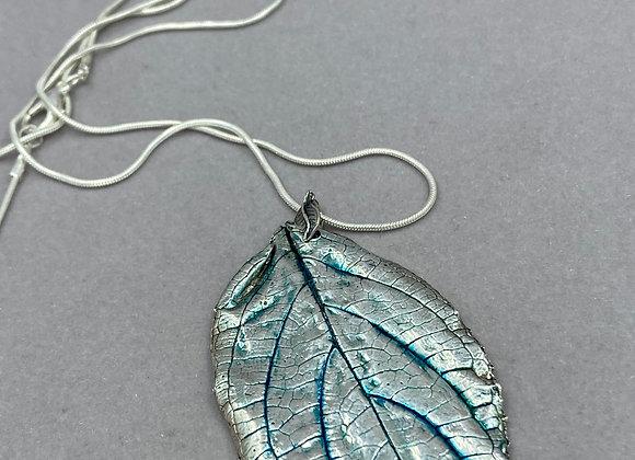 Lemon Balm Leaf pendant