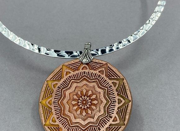 Mandala in Soft Copper