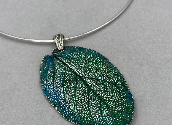 Green Fine Silver Sage Leaf