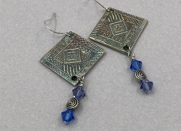Mosaic Drop Earrings