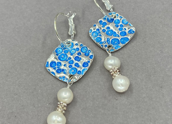 Bubbles and Pearls Earrings