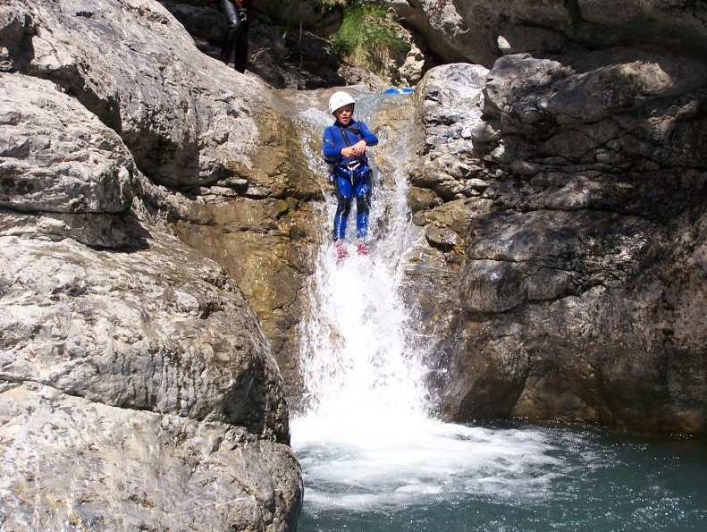 Canyoning Monetier les bains