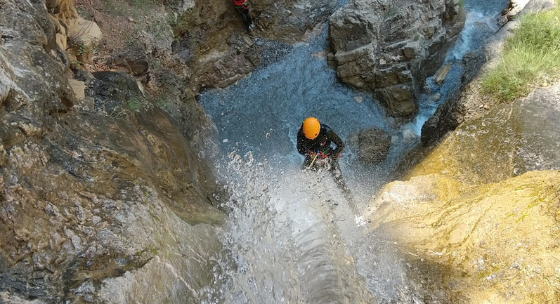 canyoning découverte serre chevalier
