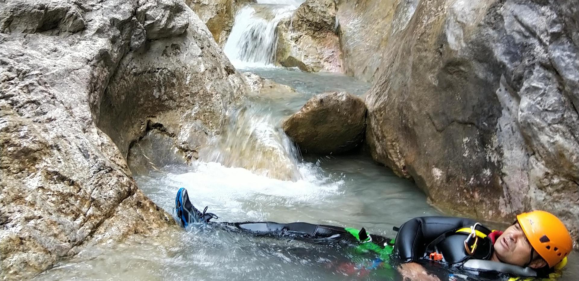 du canyoning super beau