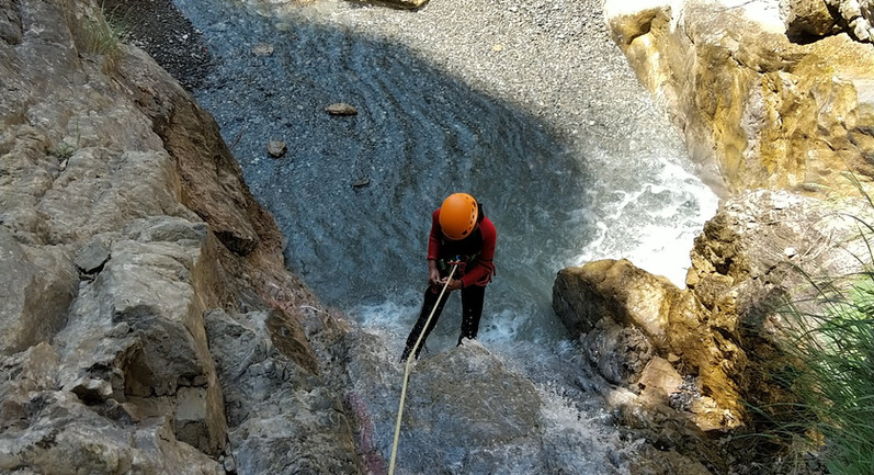 canyoning dès 12 ans pour ce parcours découverte
